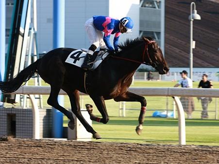 111007川崎02R2歳新馬8ロ優勝ハートツービート