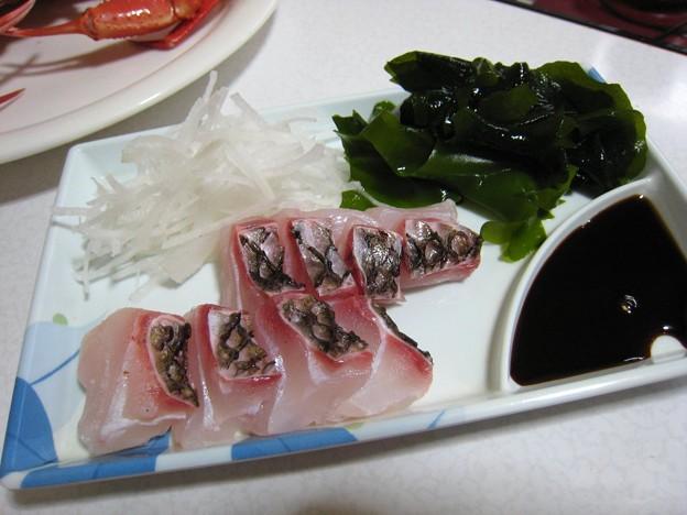 鯛の松笠造り…