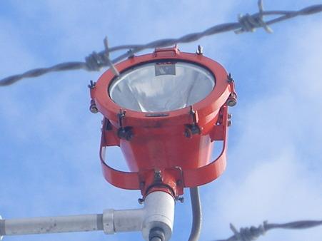 函館空港誘導灯ライト