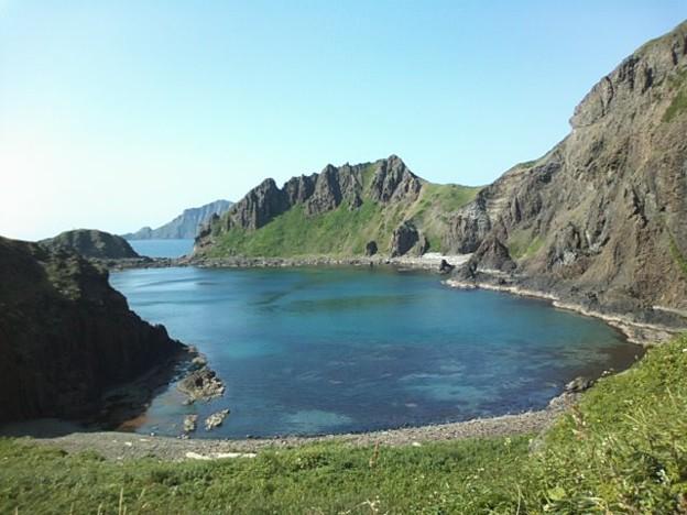 澄海岬。晴天の下、よ~く歩...