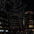 札幌駅大丸前のイルミネーション