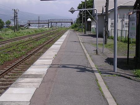 渡島大野駅ホーム1