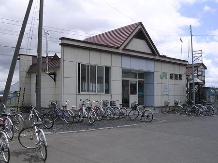 剣淵駅舎1