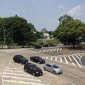 写真: 伏見通の交差点から見た名古屋城_05