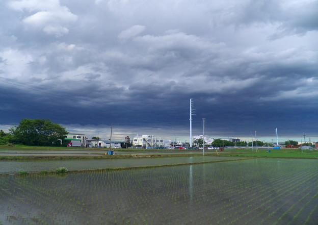 変なお天気