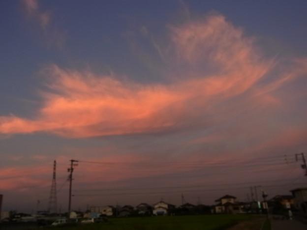 写真: 110913茜雲