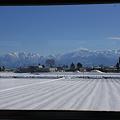 写真: キハ58の車窓から
