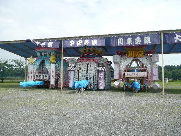 陸前高田の七夕の山車