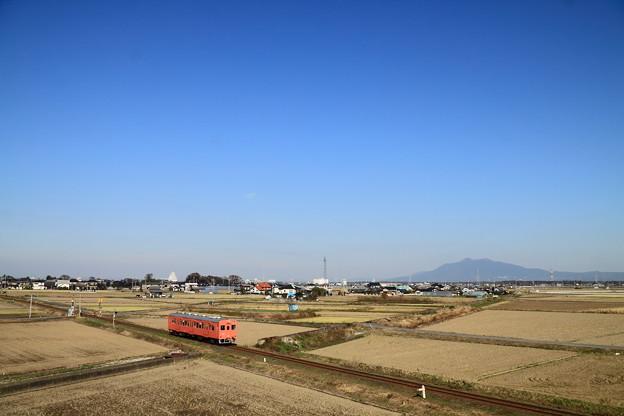 写真: 関東鉄道 常総線 三妻-南石下 キハ101