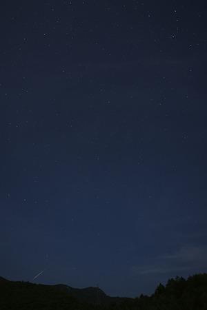 ペルセウス座流星群 火球