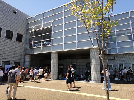 110717 平塚総合体育館