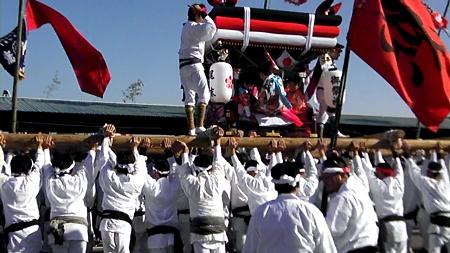 門川 だんじり 2011
