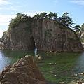 Photos: 眼鏡岩、浮かぶ