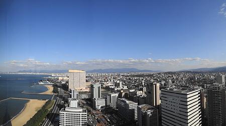 福岡タワーからの福岡市市街