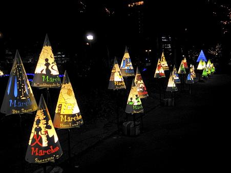 名古屋:久屋大通公園の行灯アート