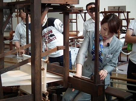 豊田式木製人力織機(複製)