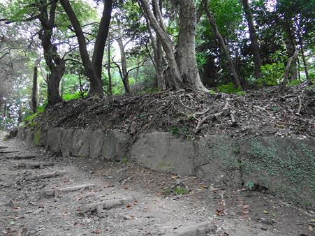 史跡:高良大社の神籠石
