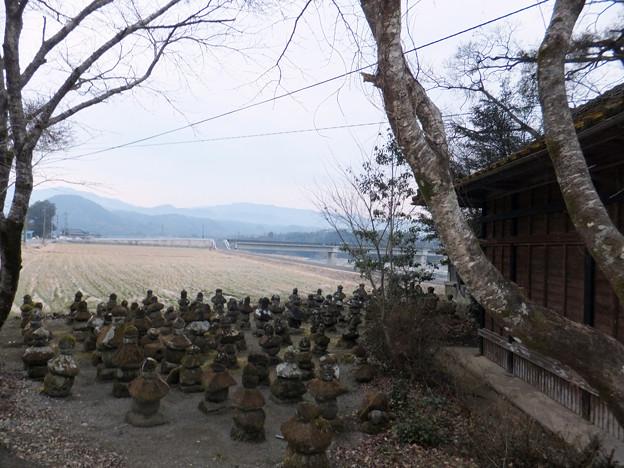 Photos: 二期第十話「仮家」の毘沙門堂