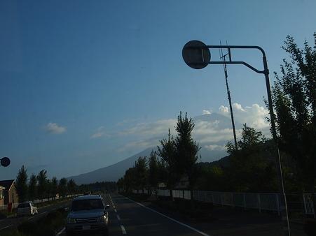 富士山@バスの中