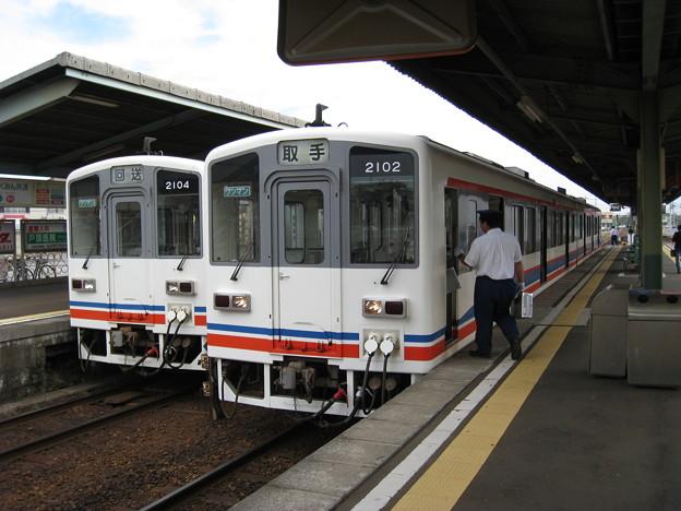 関東鉄道常総線 キハ2100形 水海道駅