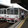 Photos: 関東鉄道常総線 キハ2100形 水海道駅