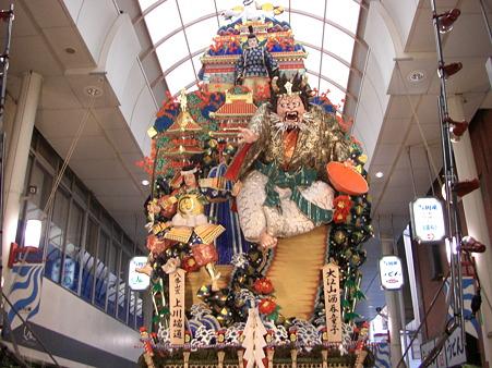 博多祇園山笠 2009 飾り山 大江山酒呑童子