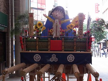 博多祇園山笠 2010 飾り山 アニメちびまる子ちゃん 新天町子供山笠