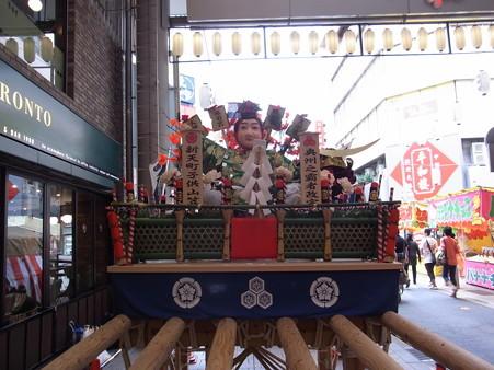 22 博多祇園山笠 飾り山 子供山笠 新天町 2012年 写真画像