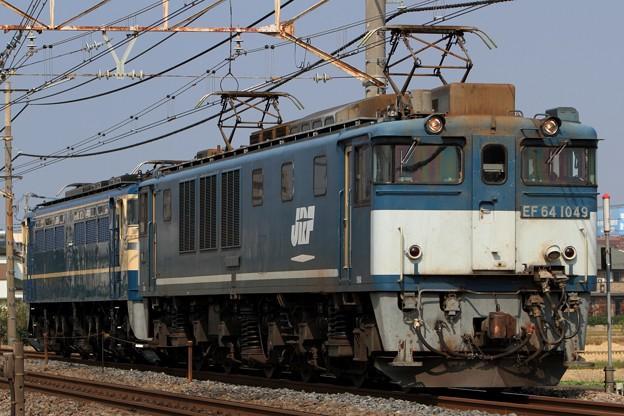 Photos: 単6794レ EF64 1049+EF65 535