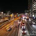Photos: 夜の道路 infobar A01