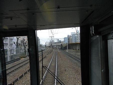321系東海道本線の車窓(新大阪→大阪)2