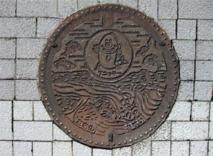 Photos: 加東市のマンホール?