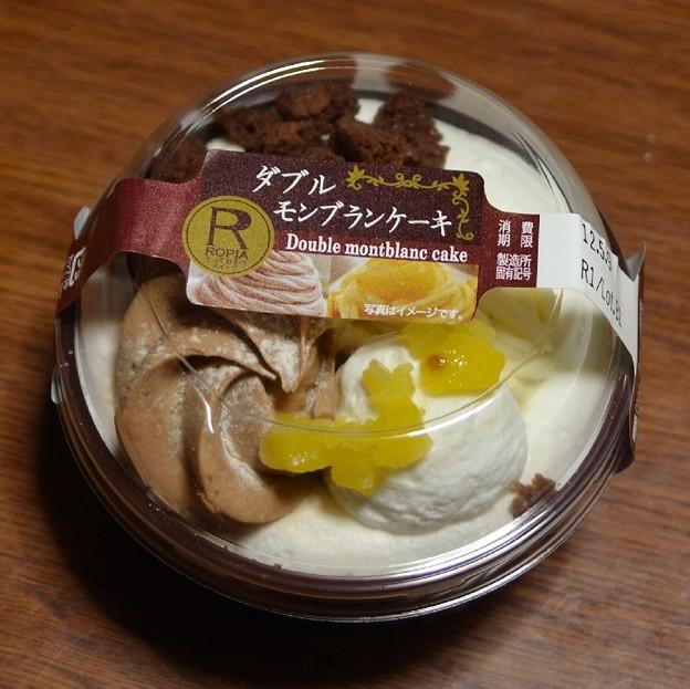 ロピア<ダブルモンブランケーキ>