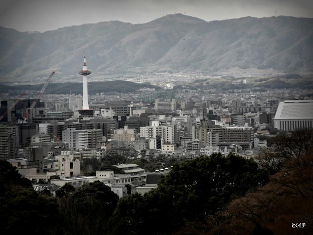 清水寺からの眺め