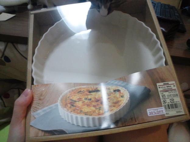 写真: 無印のキッシュ皿あああ!姫...