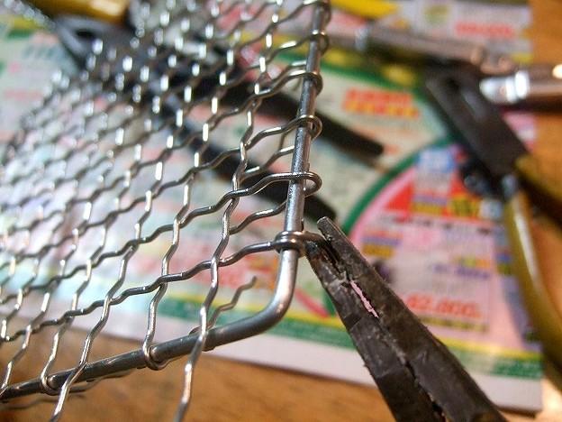焼き網 DIY