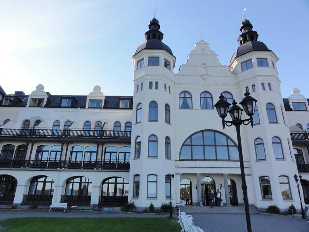写真: ホテル・グランド・サルツショーバーゲンに到着!!