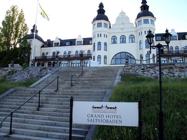 写真: ホテル・グランド・サルツショーバーゲンに到着!!2