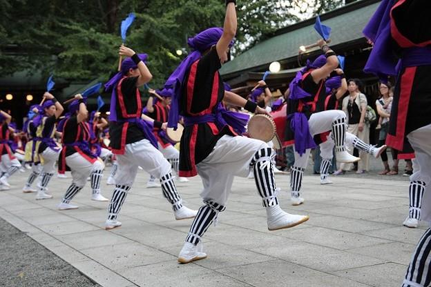 奉納 エイサー踊り2
