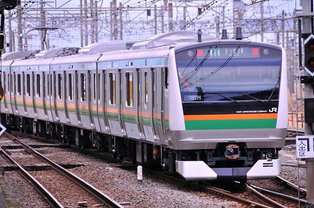 上州踊り子号。。行った後に待っていた東海道線E233系3000番台