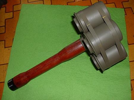 LS「STIHGR 24」ベース 収束手榴弾の完成品 その1 Doburoku-TAO